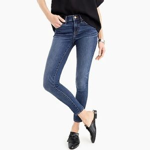 "J Crew Jeans 8"" Toothpick in Vista Wash"